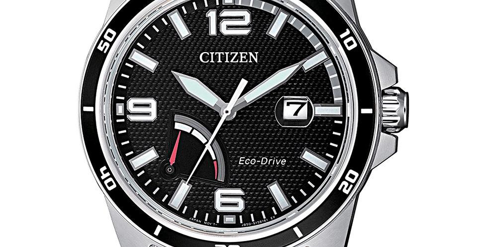 CITIZEN eco-drive uomo solo tempo AW7035-11E