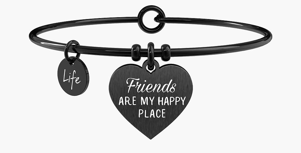 KIDULT bracciale 731707 friends are my happy place