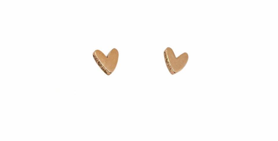 CUORI E FRECCE orecchini oro9 carati