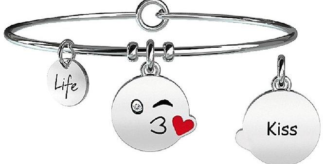 KIDULT bracciale  SYMBOLS  231676  KISS