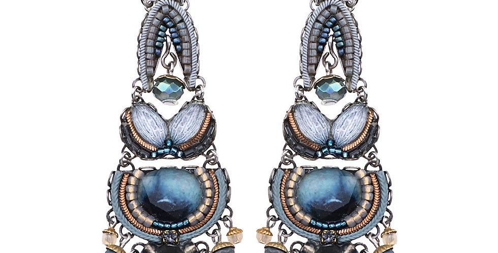 orecchini  AYALA BAR classic collection  BLUE VELVET c1401