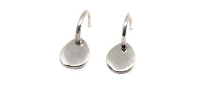 CUORI E FRECCE orecchini con pendente  personalizzabil argento 925 SORGOC