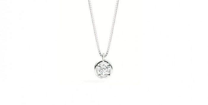 RECARLO Girocollo Bianca oro bianco 18 kt e diamanti XE299/026