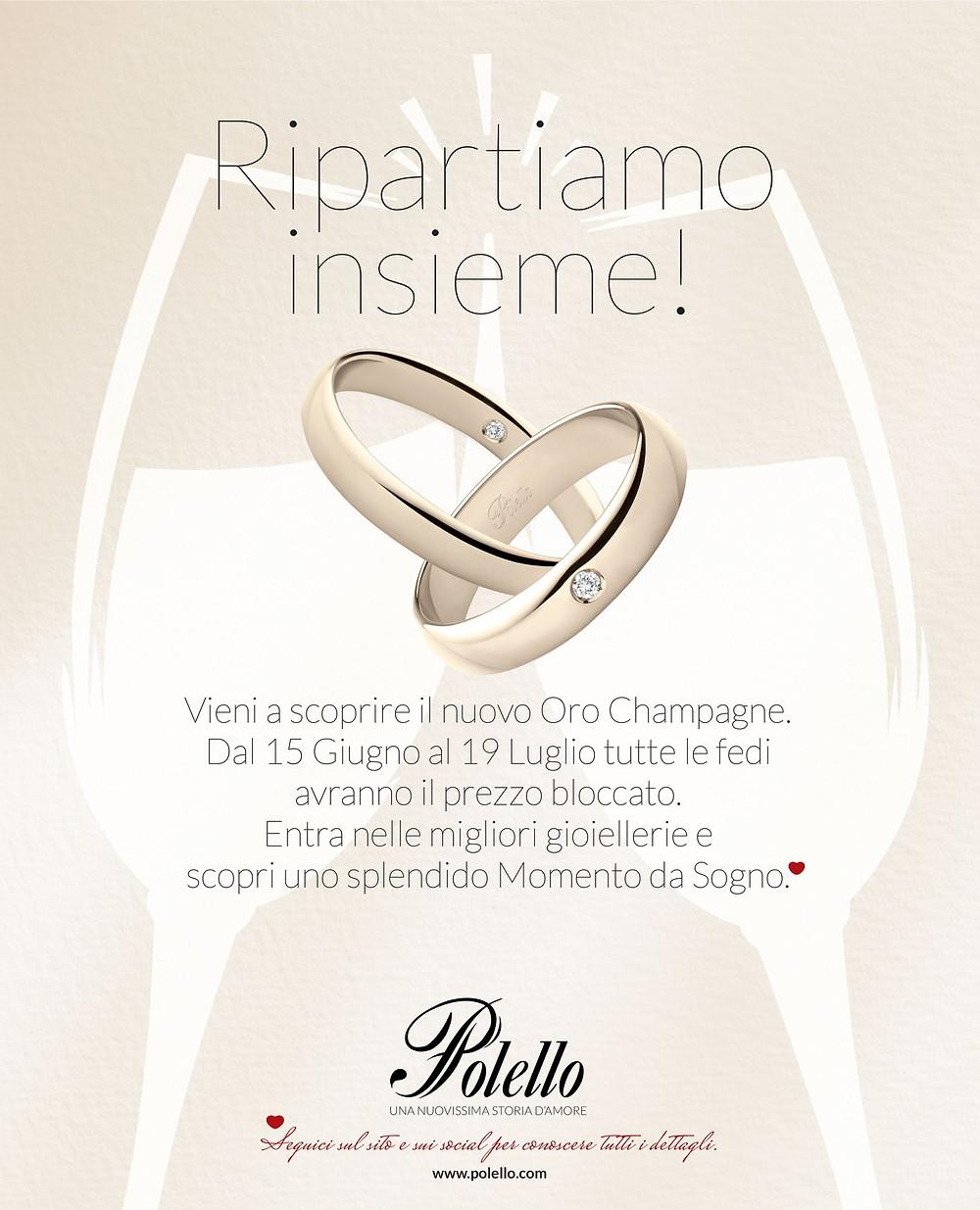 Polello, fedi, ripartiamo insieme, champagne