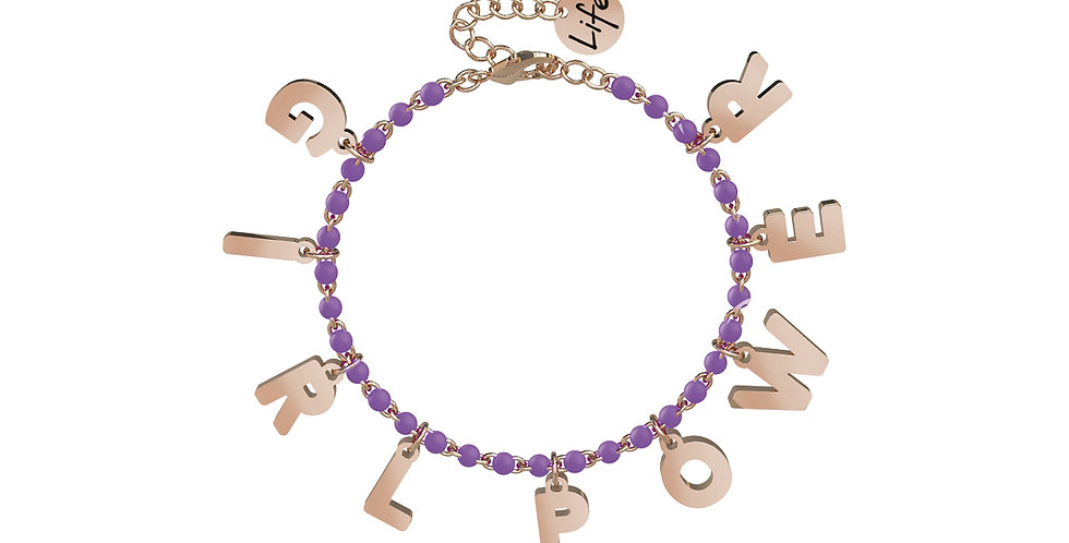 KIDULT  bracciale  731583 GIRL POWER
