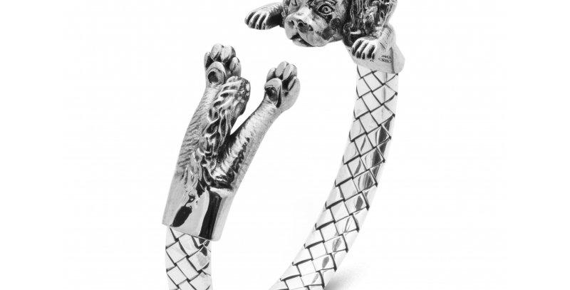 DOG FEVER bracciale hug cavalier king  DOGBRABL021