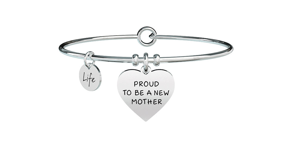 KIDULT bracciale  Special Moments 731369 CUORE-NEW MOTHER