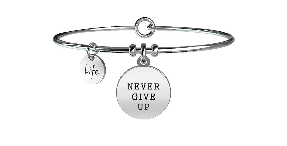 KIDULT bracciale -  never give up -731156