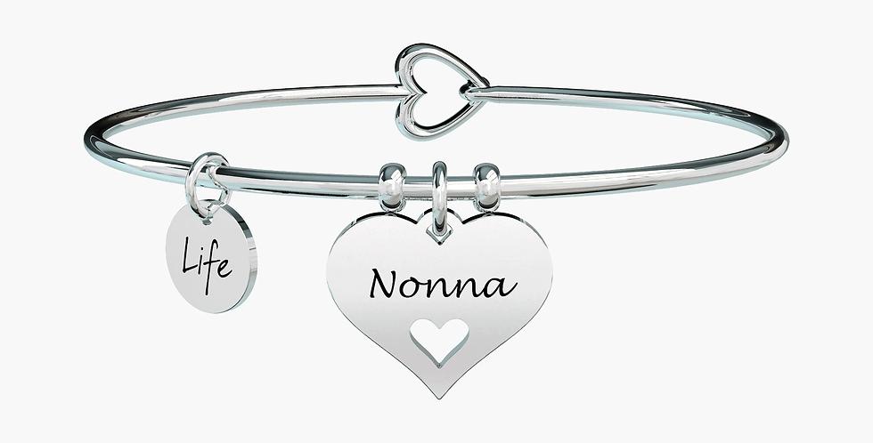 """KIDULT bracciale """"family""""731616 nonna-cuore"""