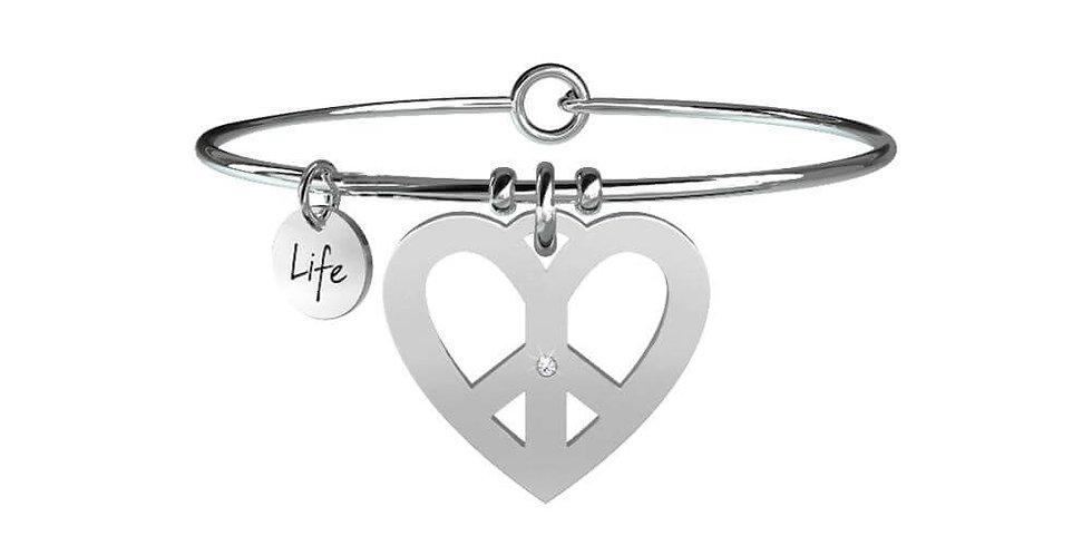 KIDULT bracciale pace amore 731086
