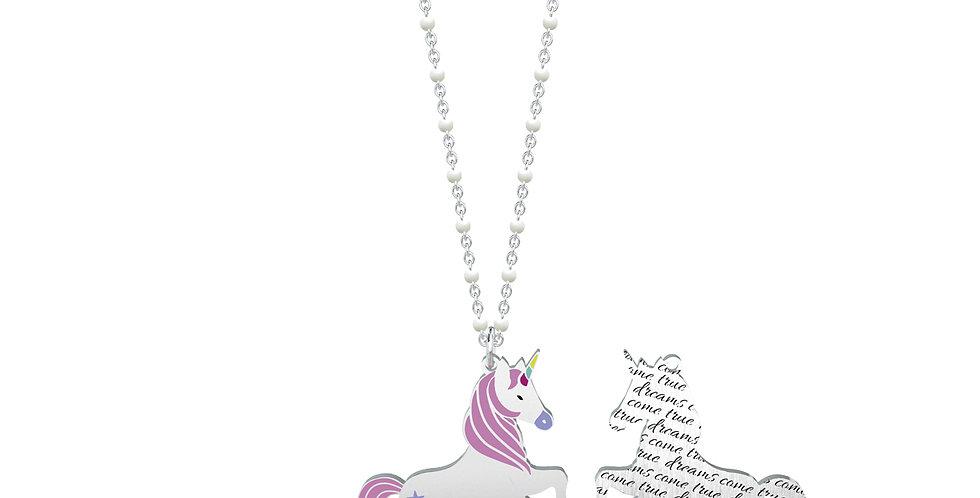 KIDULT collana SYMBOLS 751001 unicorno desideri