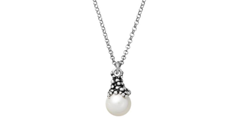 RASPINI Drops Collana Perlage in argento925 e perla naturale cod 11106