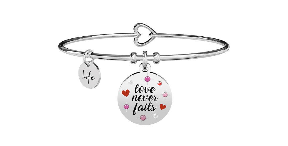 KIDULT bracciale 731873 LOVE NEVER FAILS