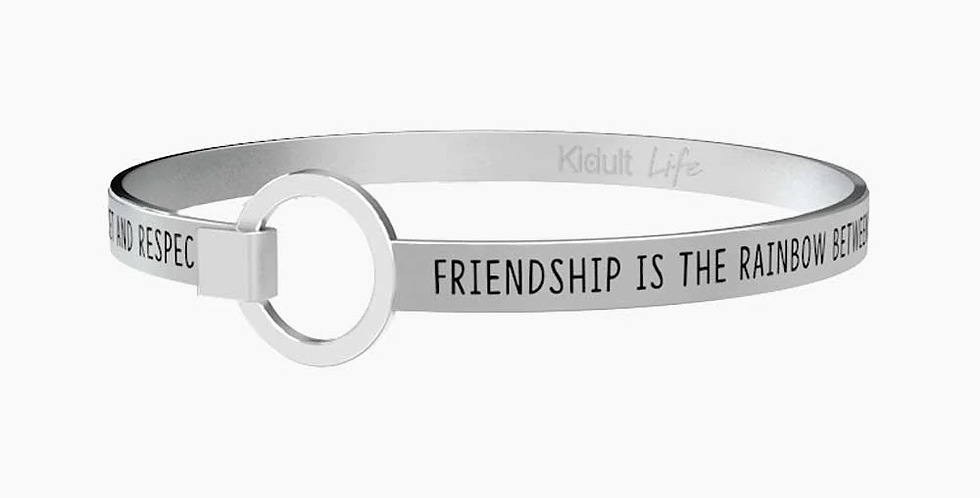 "KIDULT bracciale ""friendship is the rainbow between…. 731305"