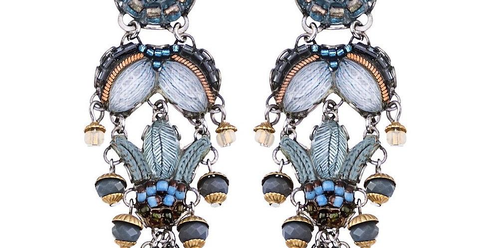 orecchini  AYALA BAR classic collection  BLUE VELVET c1404