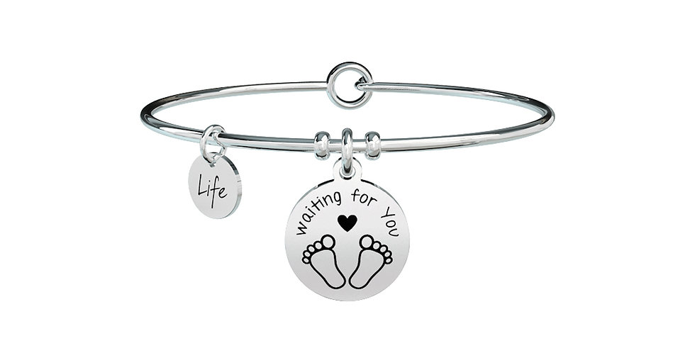 iKIDULT bracciale  Special Moments 731287  WAITING FOR YOU- diventare mamma
