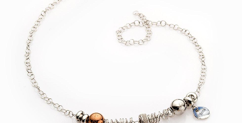 RIVALTA Collana Completa Il Cosmo in argento e 3 Ciondoli