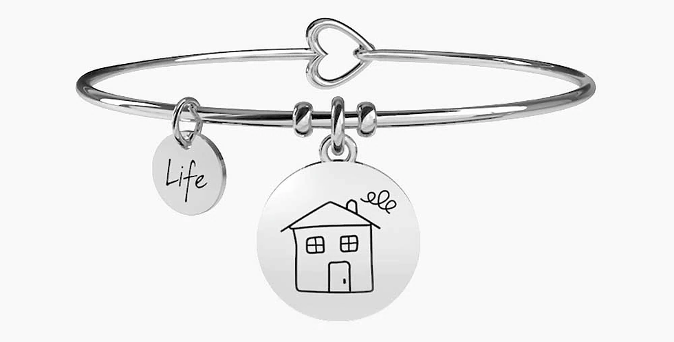 "KIDULT bracciale ""family"" 231572 HOME -HAPPINESS IS HOMEMADE"