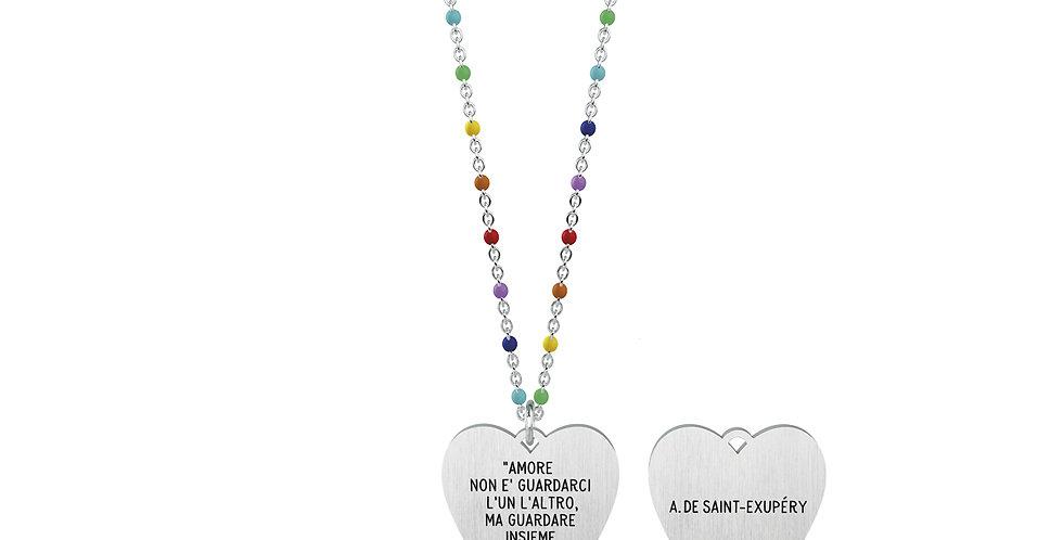 KIDULT collana  751015 LOVE amore non è guardarci l un l altro, ma guardare.....