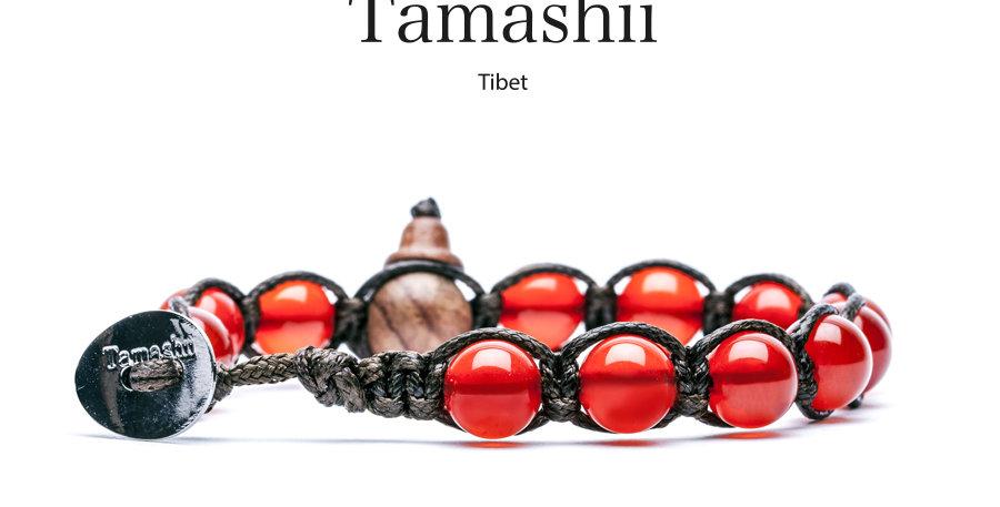 TAMASHII bracciale Agata Rosso Passione RED PASSION