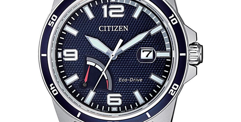 CITIZEN eco-drive uomo solo tempo AW7037-82L