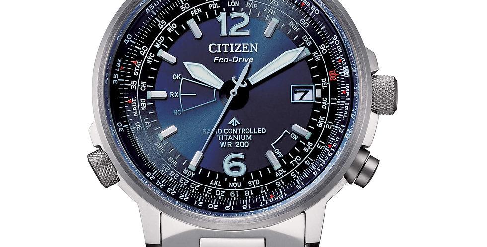 CITIZEN  Pilot Super Titanio  CB0230-81l Radiocontrollato