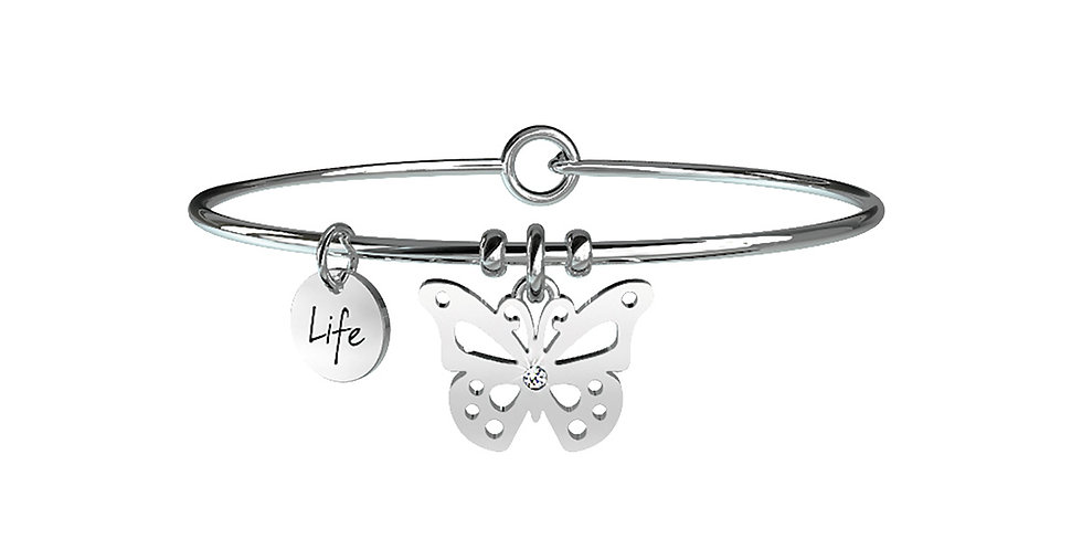 KIDULT bracciale ANIMAL PLANET 231591 farfalla-carpe diem