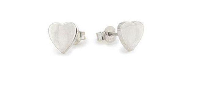 CUORI E FRECCE orecchini cuore argento SORLCU