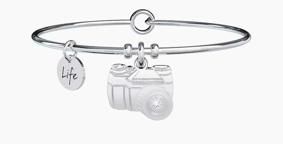 KIDULT bracciale  SYMBOLS 731498  macchina fotografica - ricordi