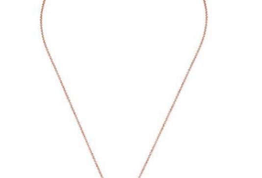 KURSHUNI collana argento rosa KR742-200