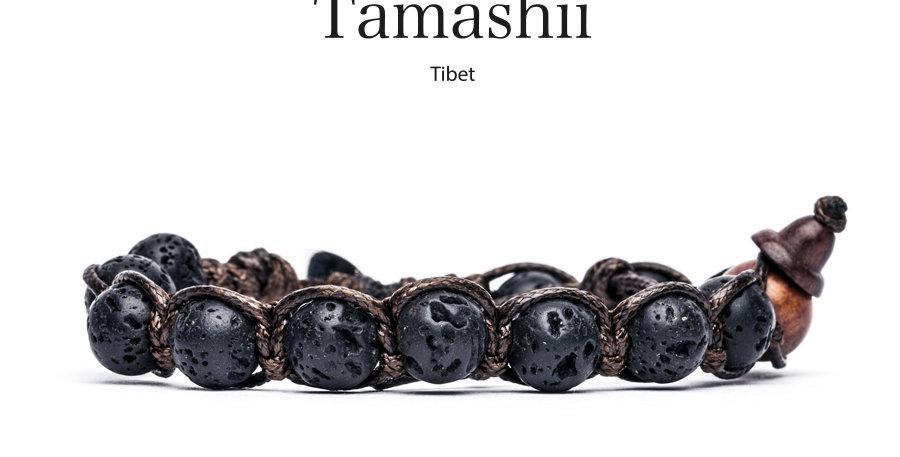 TAMASHII  bracciale Lava Nera
