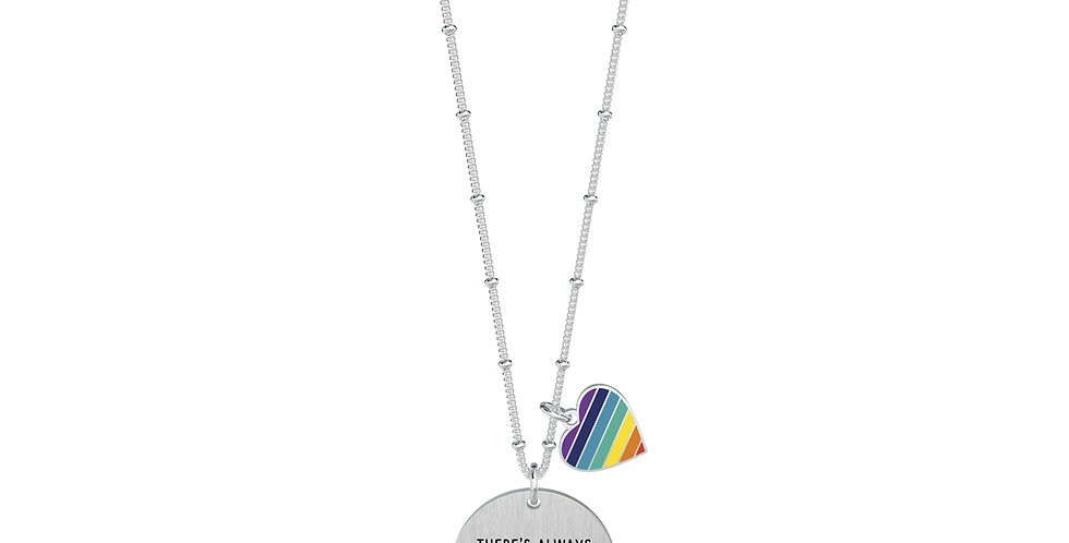 KIDULT Collana THERE'S ALWAYS A RAINBOW AT THE END… 751127 Philosophy