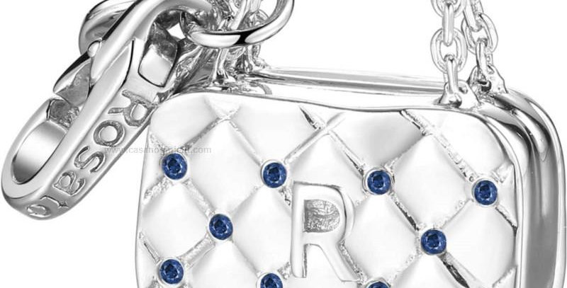 ROSATO Rosato Charm Donna My Bags zirconi blu RBA013