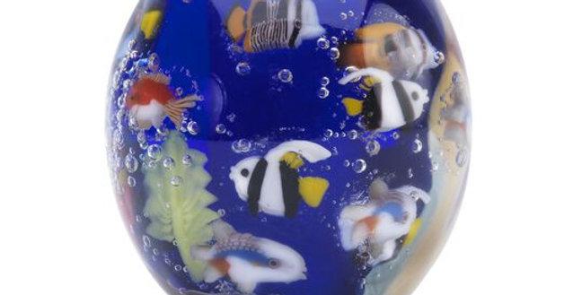 TROLLBEADS In Fondo al Blu  TGLBE-00160 ocean blu