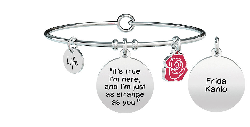 "KIDULT bracciale FRIDA KAHLO 731601""it s true i'm here....."