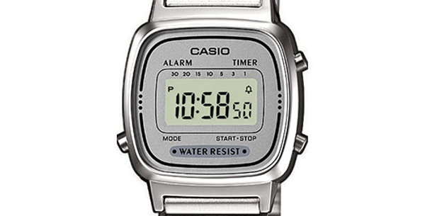 CASIO donna Vintage ICONIC A168WG-9EF
