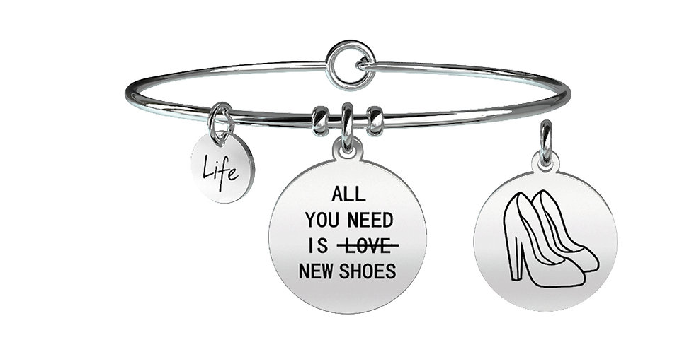 KIDULT bracciale IRONY 731091  All you need... is new shoes....