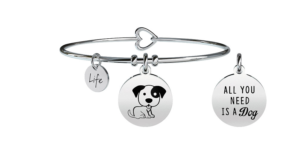 KIDULT bracciale ANIMAL PLANET  731372 cane-affetto