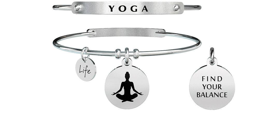 KIDULT bracciale SPIRITUALITY 731284  yoga - equilibrio