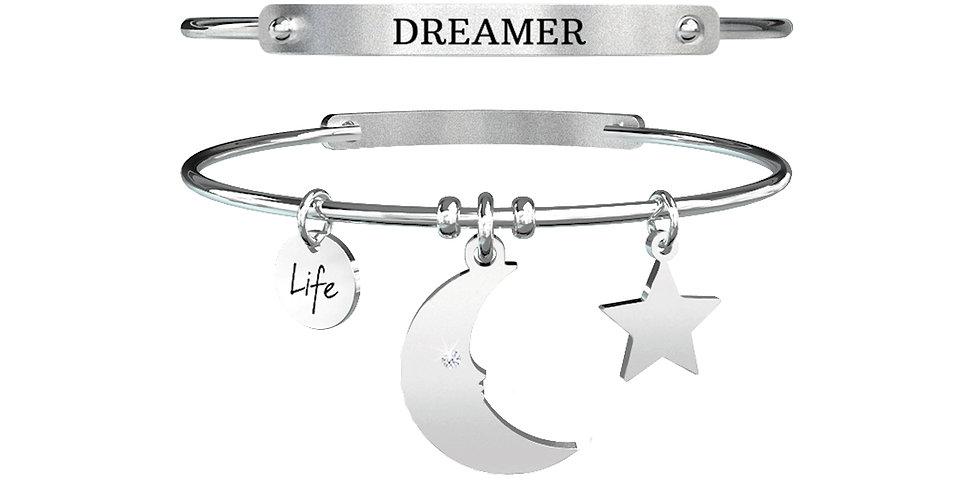 KIDULT bracciale  SYMBOLS 731312  luna - sogni