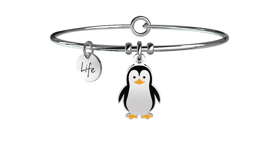 KIDULT bracciale ANIMAL PLANET  731242  pinguino-amicizia