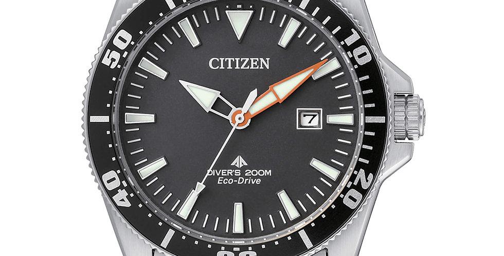 CITIZEN Orologio uomo sub BN0100-51E  Diver`s professionale certificato ISO 6425