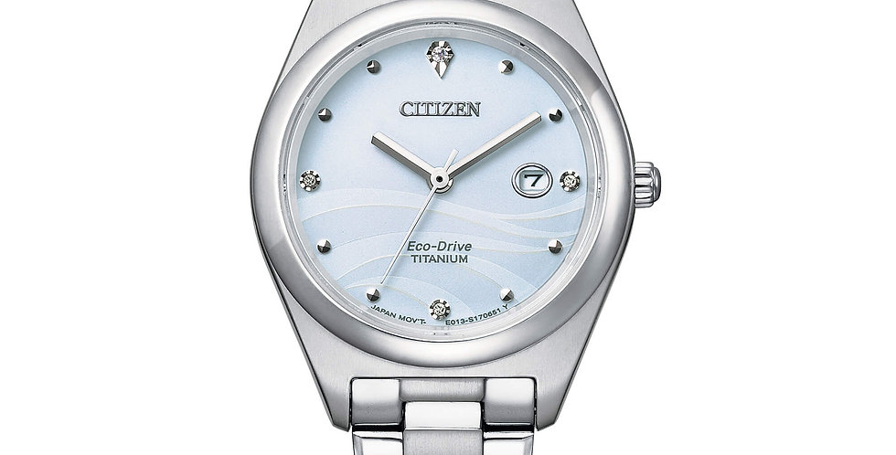 CITIZEN Orologio Donna Lady Super Titanio EM0720-85N