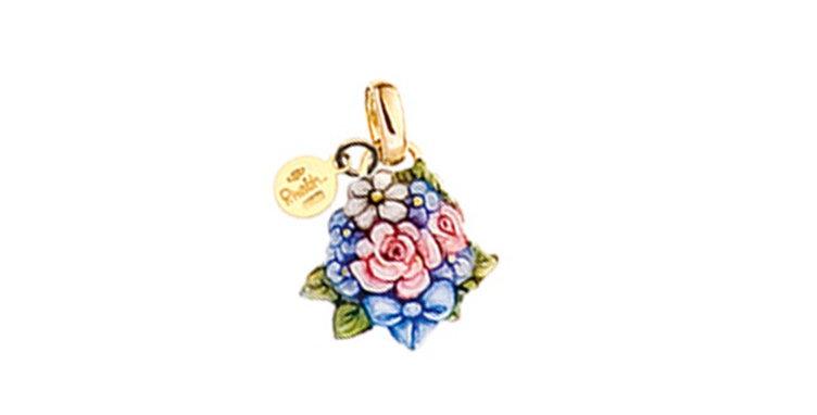 RIVALTA Ciondolo Bouquet di Fiori – Collezione Mini Preziosi