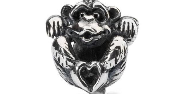 TROLLBEADS Scimmietta dell'Amore TAGBE-30149