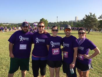 VolunteeringFundraising purplestriderun.