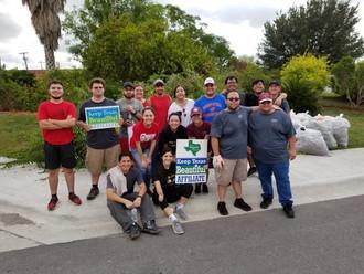 Epsilon Epsilon Kingsville Cleanup Day.j