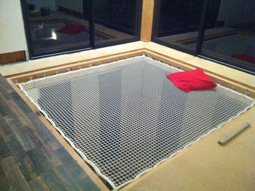 EZ hammock net