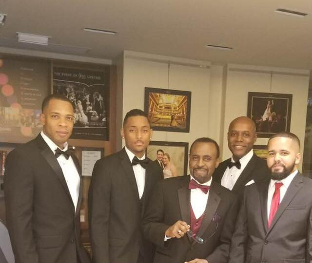 Honoring Dr. Ghazi at the 100 Men of Color