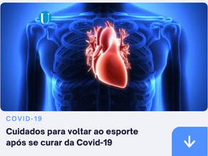 CUIDADOS PARA VOLTAR AO ESPORTE APOS SE CURAR COVID-19